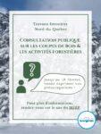 Consultations publiques aménagement forestier